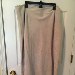 Relativity woman suede skirt beautiful 24w